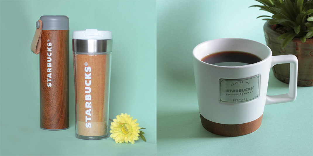 The Starbucks Nature Collection is Inspired by Wood and it's Scandi Chic