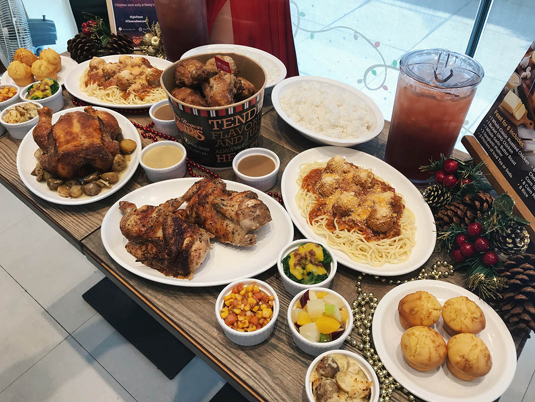 Enjoy An Epic Christmas Feast At An Awesome Price With Kenny Rogers Koji Arsua