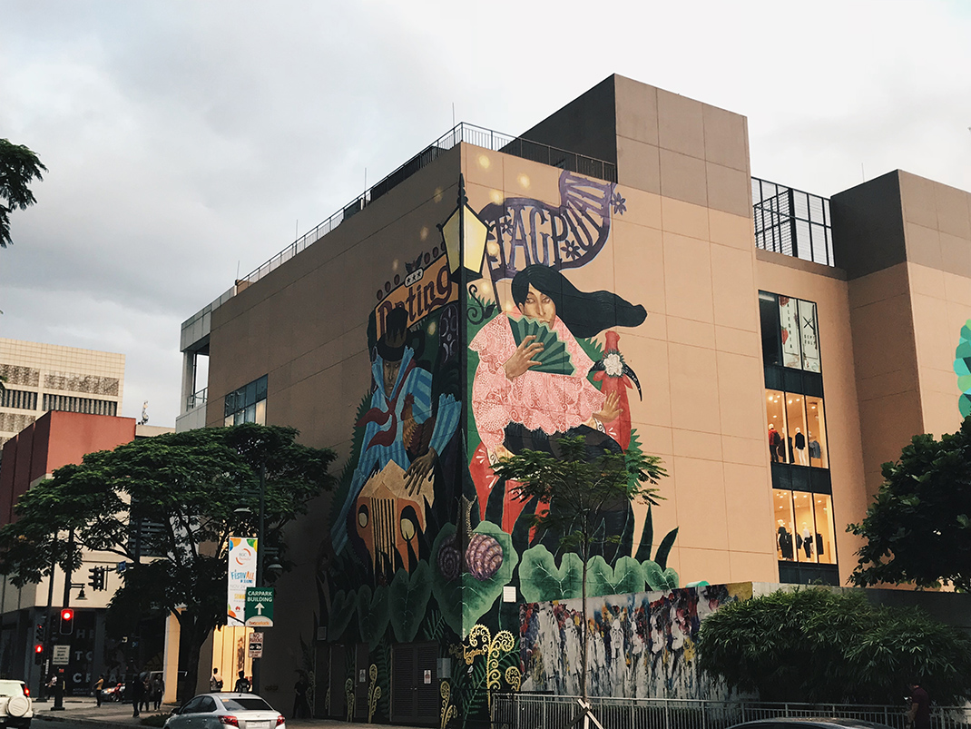 Check out the new public art murals at bgc koji arsua for Bonifacio mural